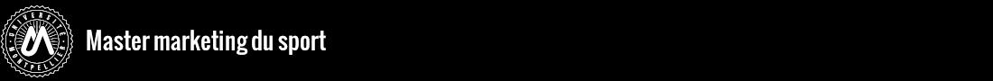 Master marketing du sport Logo